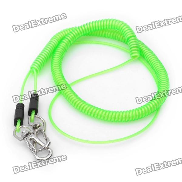 Flexibler Elastic Rope-Lock Angeln Angelrute Connect Rope - Grass Green (5m)