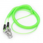 Flexible Elastic Fishing Lock Rope Fishing Rod Connect Rope - Grass Green (5m)