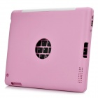Wiederaufladbare Bluetooth V3.0 82-Key Keyboard Case für iPad 2 - Pink
