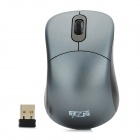 1000CPI 2.4GHz Wireless Optical Mouse - Schwarz + Grau (2 x AAA)