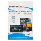 IDEWEI Hard Coating Clear Glossy AR Screen Guard Protector for HTC One S