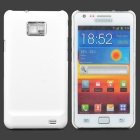 MOSHI Protective Plastic Back Case w/ Screen Protector for Samsung i9100 Galaxy S2 - White