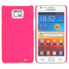 MOSHI Protective Plastic Back Case w/ Screen Protector for Samsung i9100 Galaxy S2 - Rose Red