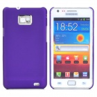 MOSHI Protective Plastic Back Case w/ Screen Protector for Samsung i9100 Galaxy S2 - Purple