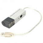 USB 2.0 LAN Ethernet Adapter Cable With 3-Port USB Hub