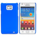 MOSHI Protective Plastic Back Case w/ Screen Protector for Samsung i9100 Galaxy S2 - Deep Blue