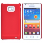 MOSHI Protective Plastic Back Case w/ Screen Protector for Samsung i9100 Galaxy S2 - Red