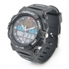 Sports Diving Wrist Watch w/ EL Backlit / Calendar / Stopwatch / Alarm Clock - Black (1 x CR626)