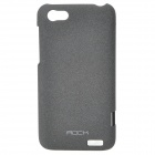 ROCK Quicksand Series Protective PC Back Case for HTC One V - Black
