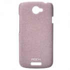 ROCK Quicksand Series Protective PC Back Case for HTC One S - Purple