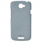 ROCK Quicksand Series Protective PC Back Case for HTC One S - Grey