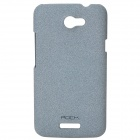 ROCK Quicksand Series Protective PC Back Case for HTC One X - Grey