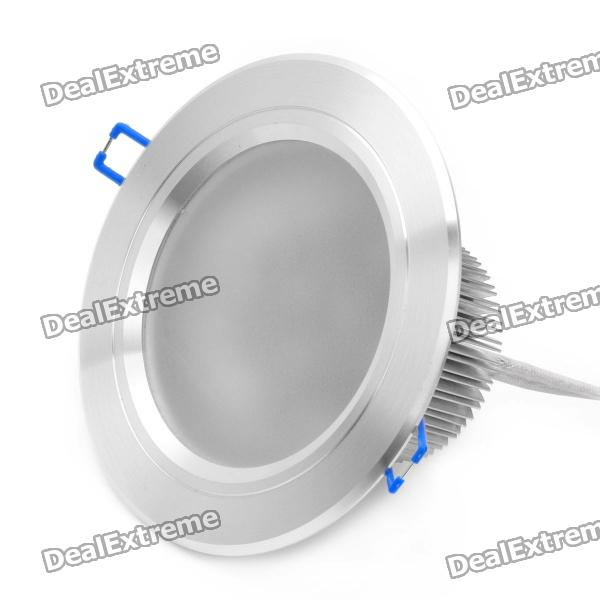 9W 6000~6500K 720~750-Lumen 9-LED White Light Ceiling Down Lamp w/ Driver (100~240V) high quality 30cm usb 2 0 type b male to female m f extension data cable panel mount for printer cable with screw hole