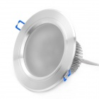 9W 6000~6500K 720~750-Lumen 9-LED White Light Ceiling Down Lamp w/ Driver (100~240V)