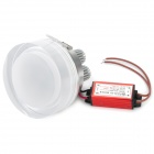 7W 280~300LM 620~630nm LED Red Light Ceiling Lamp (100~240)