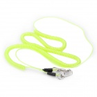 Flexible Elastic Fishing Lock Rope Fishing Rod Connect Rope - Fluorescence Green (8m)