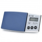 1.4&quot; LCD Portable Jewelry Digital Pocket Scale - 500g/0.1g (2 x AAA)