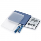 "1.4"" LCD Portable Jewelry Digital Pocket Scale - 500g/0.1g (2 x AAA)"