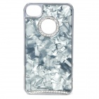 Protective PC Case Cover for iPhone 4 / 4S - Silver + Grey
