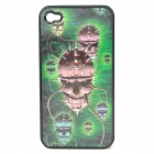 Protective PC Back Case with Cool 3D Graphic for iPhone 4 / 4S - Devil Skull Pattern