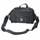Protective Nylon Fabric One-Shoulder / Waist Bag for Nikon DSLR D60 / D70 + More - Black