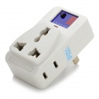 Universal IR Remote Controlled AC Outlet - White (110V)