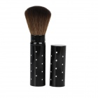 Professional Retractable Cosmetic Make-Up Foundation Soft Brush - Black