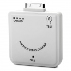 Portable 1900mAh Emergency Mobile Power Charger with 4-LED Indicator Light for iPhone / iPod