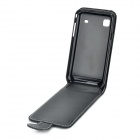 Protective PU Leather Case for Samsung Galaxy S i9000 - Black