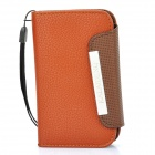 Kalaideng Luxury Hand-made Leather Case for Blackberry 9360 - Brown