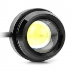 10W 1000LM 6000K Eagle Eye luz LED branca para o carro (8 ~ 28V / par)