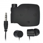 BH-111 Bluetooth V2.1+EDR Receiver w/ 3.5mm Earphone - Black (120-Hour Standby)