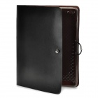 Innovative Cowhide Case for Ipad 2 - Black