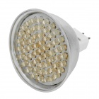 MR16 GU5.3 3.6W 3000~3500K 360-Lumen 60-LED Warm White Light Bulb (DC 12V)