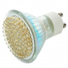 GU10 81-LED 4.9W 560LM 3500K Warm White Lamp (85~265V)