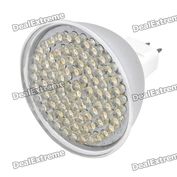 MR16 GU5.3 4.86W 3500K 486-Lumen 81-LED Warm White Light Bulb (DC 12V) от DX.com INT