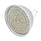MR16 GU5.3 4.86W 3500K 486-Lumen 81-LED Warm White Light Bulb (DC 12V)