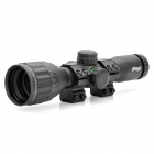 WALTHER 6X32A0 Red/Green Light 4X Rifle Scope - Black (1 x CR1620)