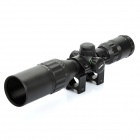 Leapers 3~9X 32mm Red/Green Dot Sight Rifle Scope for 21mm Rail - Black (1 x CR1620)