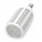 E14 10W 3000~3500K 996~1162-Lumen 166-LED Warm White Light Bulb (220~240V)