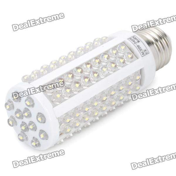 E27 7.5W 840LM 6500K Cold White Light 120-LED Corn Cob Bulb (220~240V)