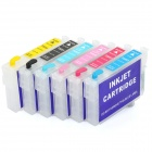 Refillable Color Ink Jet Cartridge for Epson ME30 (6 Color)