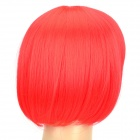 Fashion Short Straight Hair Wigs - Red