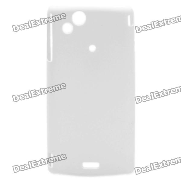 где купить  Protective PC Back Case for Sony Ericsson LT18i - White  дешево