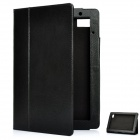 Stylish Protective PU Leather Case for Acer Iconia Tab A500 - Black