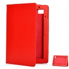 Stylish Protective PU Leather Case for Acer Iconia Tab A500 - Red