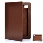 Stylish Protective PU Leather Case for Acer Iconia Tab A500 - Brown