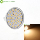 MR16 GU5.3 5.5W 390LM 3000-3500K 30-SMD Warm White LED Light Bulb