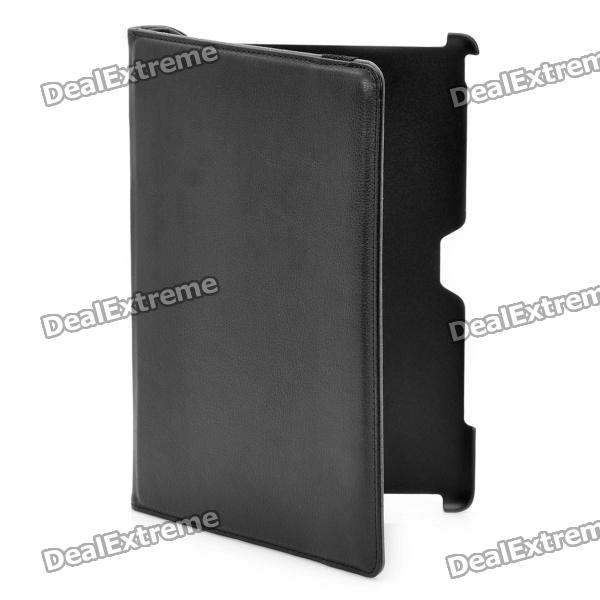360 Degree Rotating Swivel Protective PU Leather Case for ASUS Transformer Prime TF201 - Black asus transformer prime tf300tg 3g купить