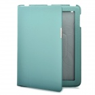 Protective PU Leather Case for Ipad 2 - Light Green